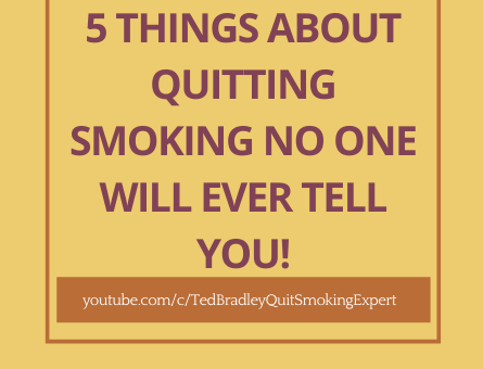 Copy of 5 THINGS ABOUT QUITTING SMOKING