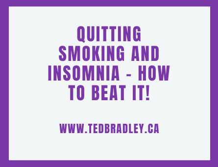 QUITTING SMOKING AND INSOMNIA