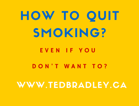 QUITTING SMOKING EVEN IF YOU DONT WANT TO_