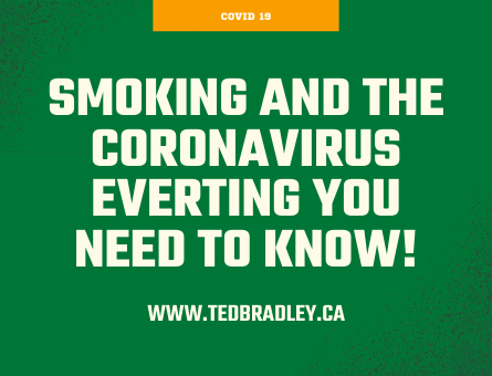 SMOKING AND THE CORONA VIRUS