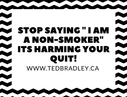 STOP SAYING IM A NON SMOKER