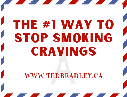 THE NUMBER ONE WAT TO STOP SMOKING CRAVINGS